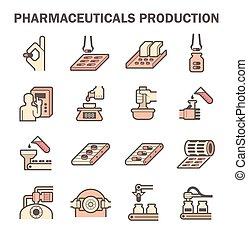 薬, ベクトル, アイコン