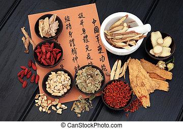 薬, 中国語