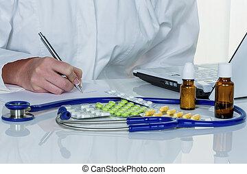 薬, 医者, prescribes