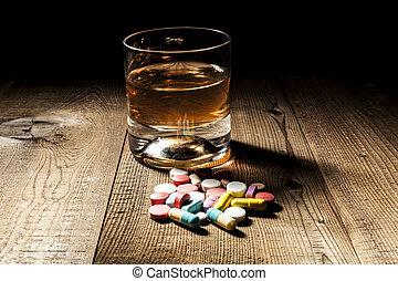 薬, ∥対∥, アルコール