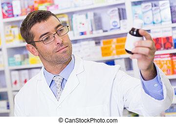 薬, 薬剤師, ジャー, 保有物
