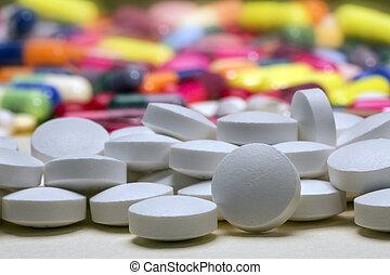 薬, 薬, -, 丸薬, タブレット
