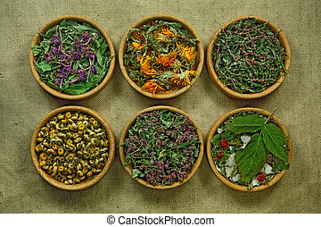 薬, herbs., dried., 草, 薬効がある, phytotherapy