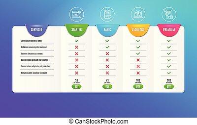 藍圖, 網像, 清單, 徵候。, 設置, 批准, 矢量, 交通, bitcoin, set.