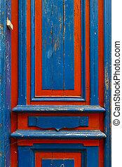 藍色和紅色, 門, tallinn