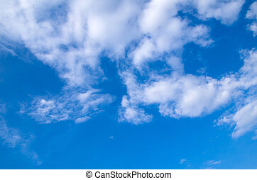 藍色的天空