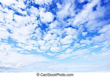 藍色的天空, 背景