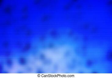 藍色的背景