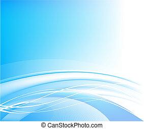藍色的背景, 矢量, 摘要