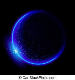 藍色的行星