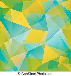 藍色, 以及, 黃色的背景