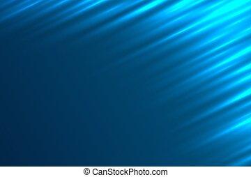 藍色, 光線, 光, 摘要, 背景。, 矢量