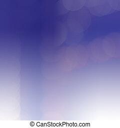 藍色, 光, 摘要,  bokeh, 背景, 迷離