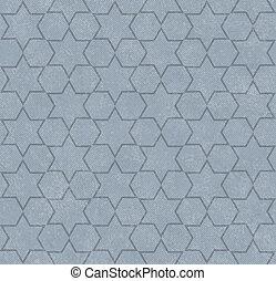 藍色, 六角形, 仿造, textured, 織品, 背景