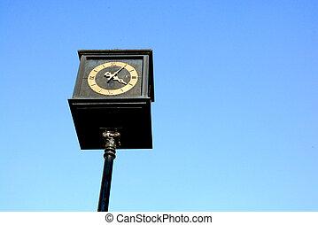 藍色, 天空, 鐘