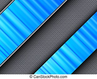 藍色, 摘要, 背景