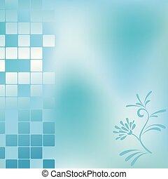 藍色, 摘要, 背景, 插圖, 矢量, -