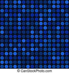 藍色, 摘要, seamless, 矢量, 背景, 氣泡, spot.