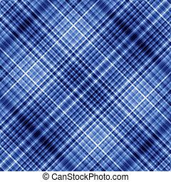 藍色, 斜紋織物, 背景。, 顏色, 像素, 馬賽克