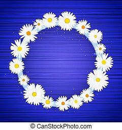 藍色, 星, 光, 框架, 影響, 背景。, 明亮, 矢量, 樣板, glitter., 植物群的旗幟, 輪, 發光