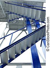 藍色, 橋梁