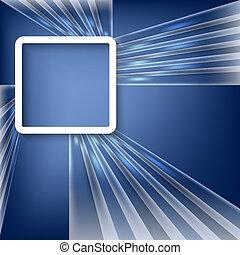 藍色, 矢量, 背景