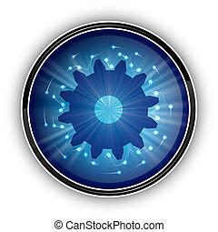 藍色, 符號