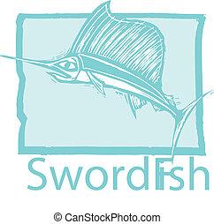 藍色, 箭魚
