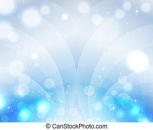 藍色, 美麗, 天堂, 魔術, postca, 天空, 波浪, 背景, 聖誕節
