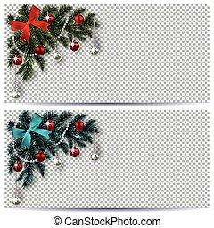 藍色, 聖誕節, 事務, drawing., 樹, 飛行物, 邀請, 新, shadow., 背景。, year., 綠色, 插圖, 分支, 玩具, 圣誕節。, 角落, 卡片, 透明
