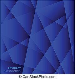 藍色, 背景。, 摘要, 幾何學