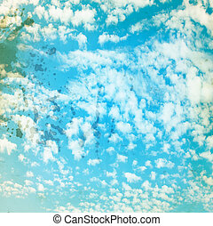 藍色, 設計, 風景, 天上, 背景