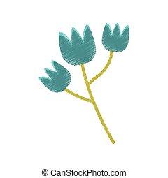 藍色, 郁金香, 花, 春天, 略述