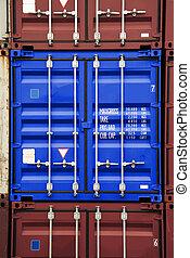 藍色, 顏色, 容器