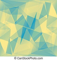 藍色, 黃色的背景