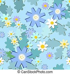 藍色, cornflowers, 背景