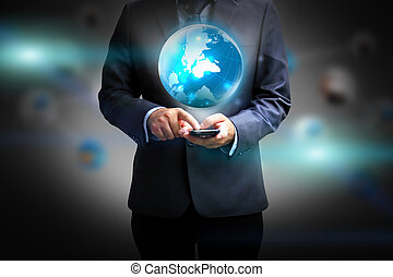 藏品, 商人, 世界事務