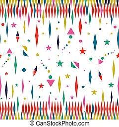 藝術顏色, 圖案, seamless, 星, 假期