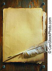 藝術, 中世紀, 手稿, 幻想, 哥特式, 背景