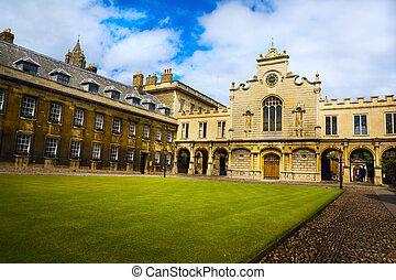 藝術, 劍橋大學, 以及, 學院, 教堂