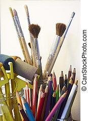 藝術, 工藝, 工具