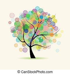 藝術, 樹, 幻想