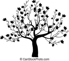 藝術, 樹, 美麗, 為, 你, 設計