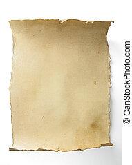 藝術, 老, 紙卷