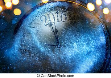 藝術, 聖誕節, 以及, 新年, 鐘, 2016
