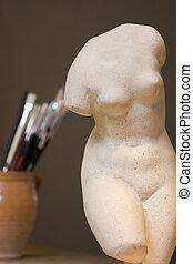 藝術, 軀幹