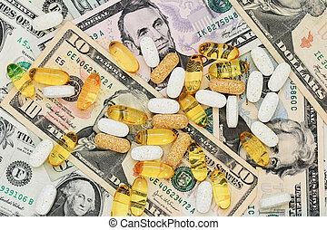 藥丸, 上, 我們, 錢
