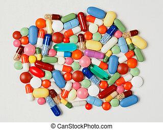 藥丸, 在懷特上