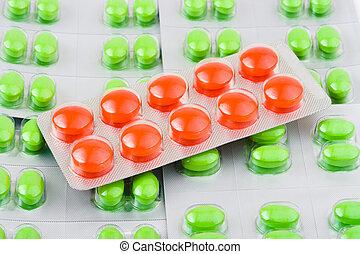 藥丸, 填塞