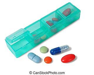 藥丸, 組織者, 在懷特上